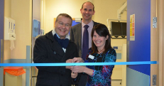BBC broadcaster cuts the ribbon on multi-million scanner suite in Sandwell