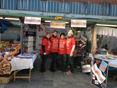Sandwell Hospital brings safe sex to shoppers on the streets of West Bromwich