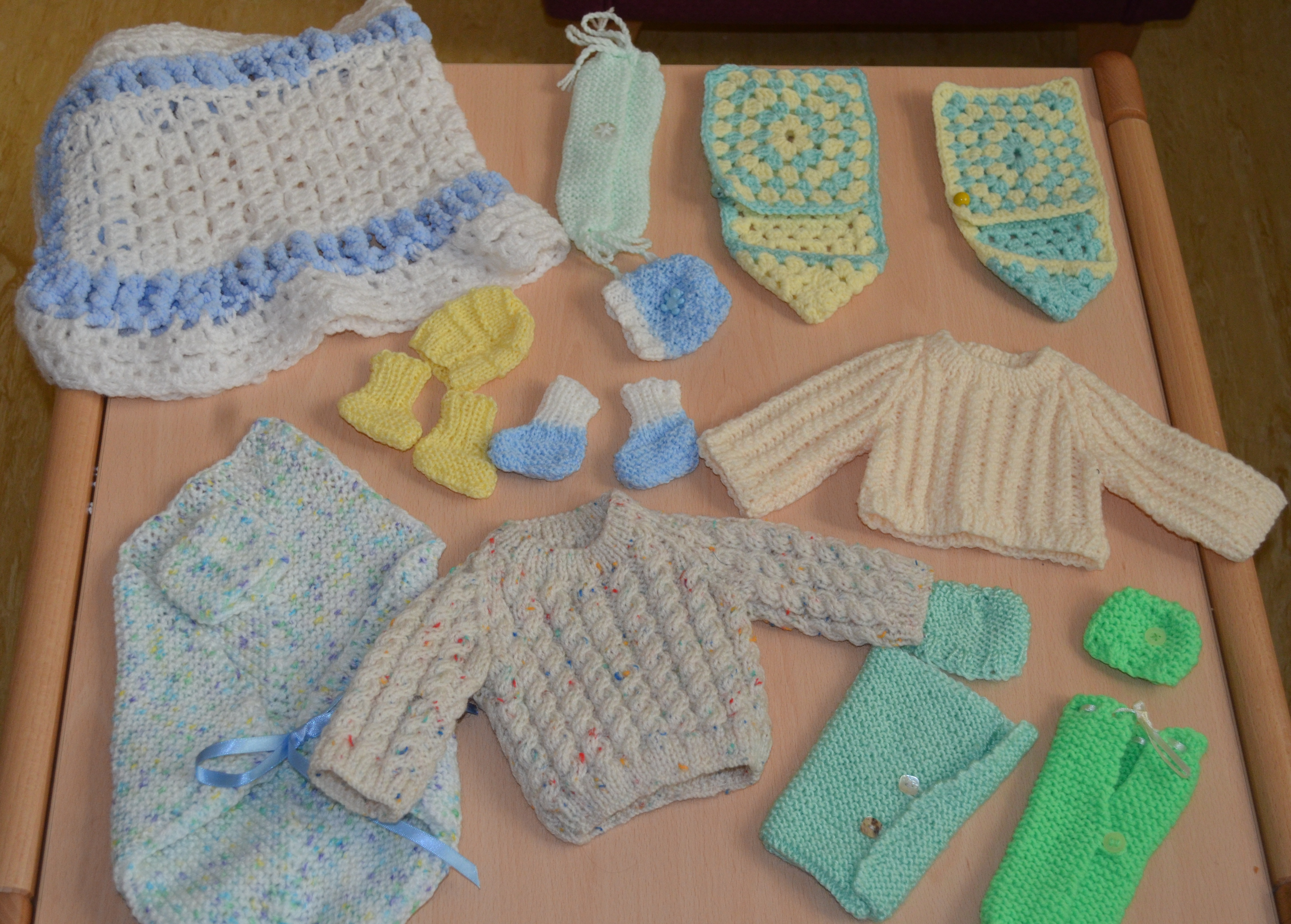 Swbh Charity Feels All Warm And Fuzzy After A Knitted Donation Is