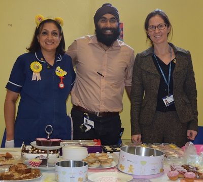Paediatric cake sale