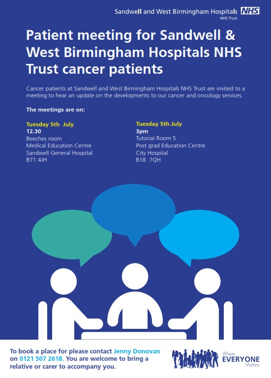 cancer wellbeing meeting