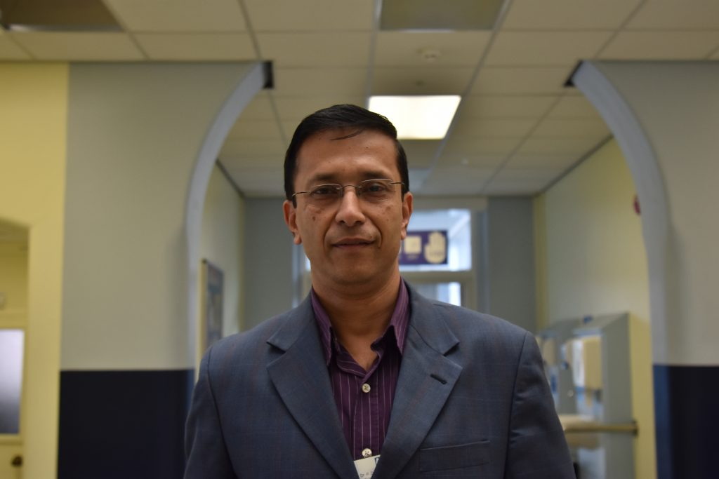 Dr Parijat De and the diabetes team have scooped a national award.