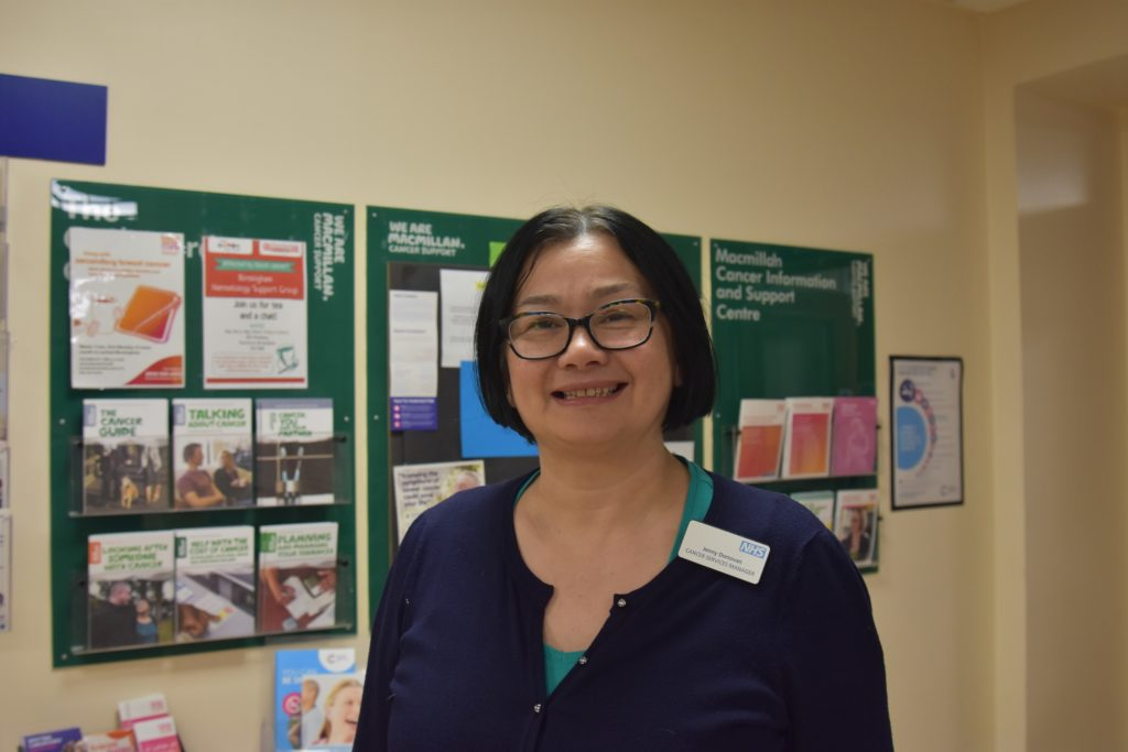 Jenny Donovan Cancer Services Manager