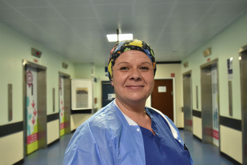 Kerry Scott one of the Trust's NHS Heroes