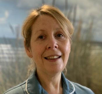 Lynne hewitt one of the Trust's NHS Heroes.