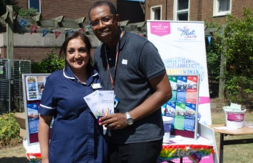 Your Trust Charity tea party held at Sandwell Hospital.