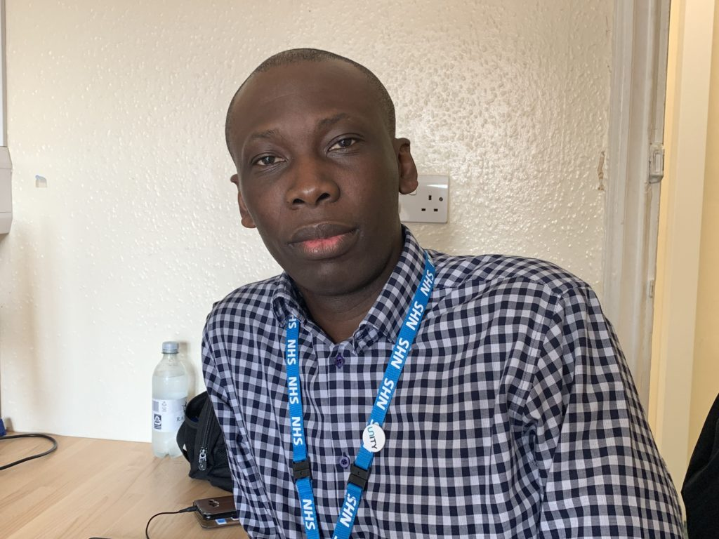 Kwasi Owusu-Asamoah who works in the improvement team