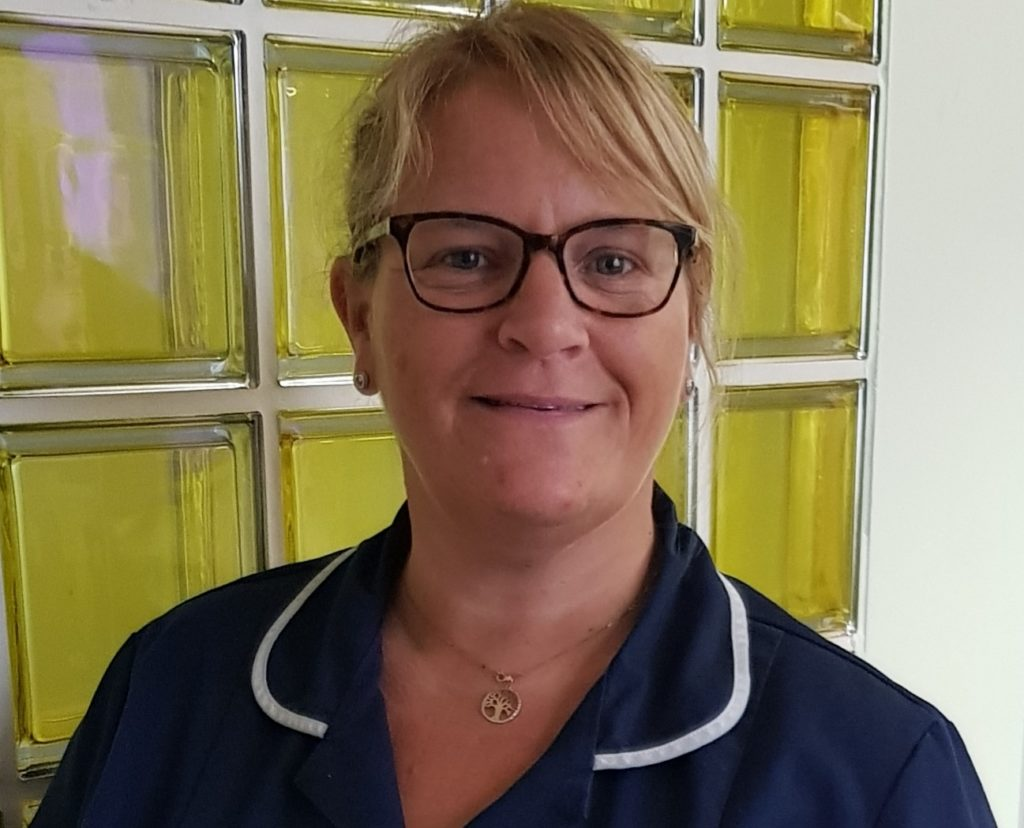 Amanda Brown is one of the Trust's NHS Heroes