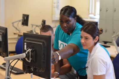 Unity our new Electronic Patient Record was launched in September 2019. Here are some nurses during the launch of the new system.