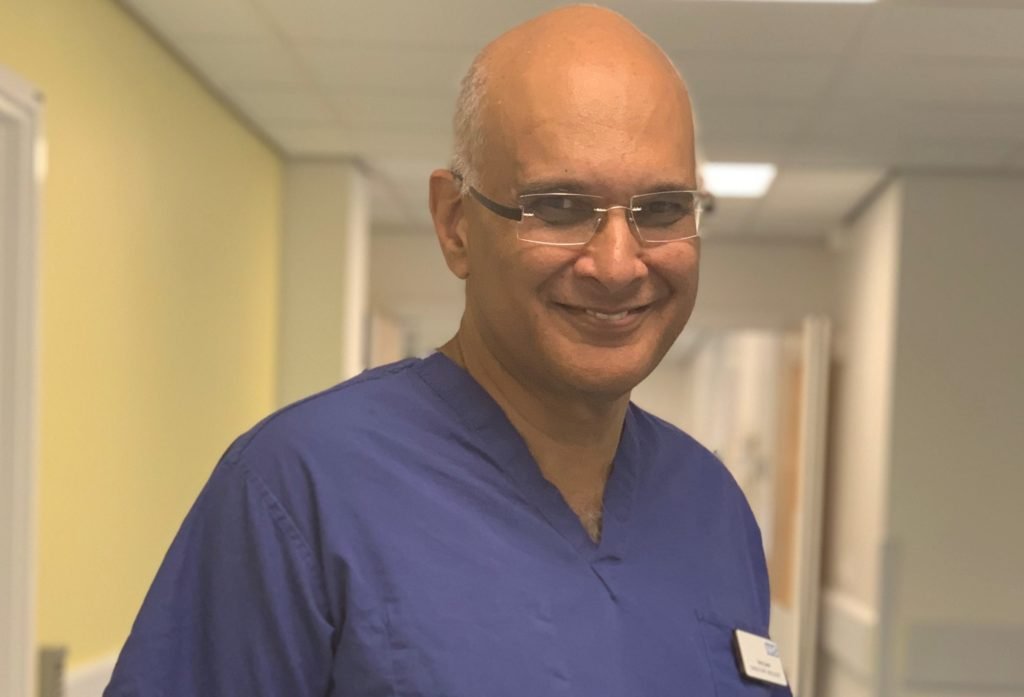Mr Tariq Sami has been recognised as one of the Trust's NHS Heroes for the great work he has done throughout his time at the trust.
