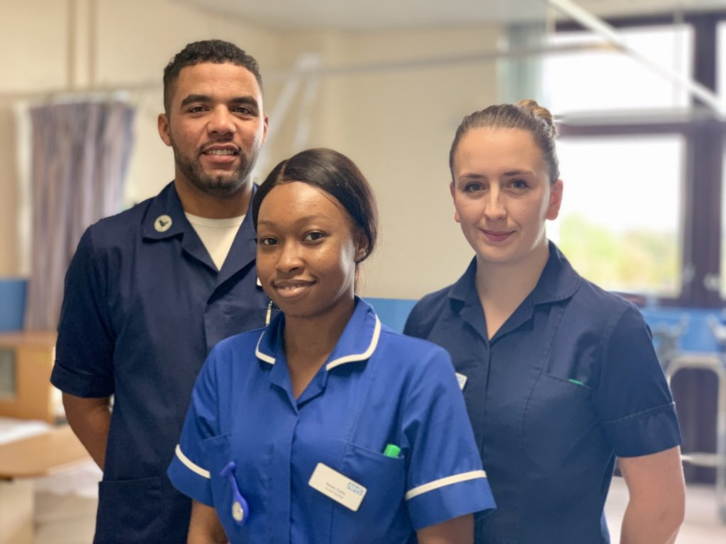 Surgical services staff have praised working within the Trust where there are opportunities for practice development and promotion as well as great staff benefits.