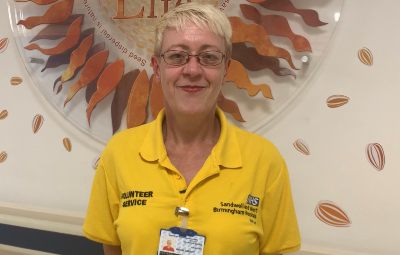 Rachel Bassett who was once a patient treated for alcohol misuse is now volunteering at the Trust helping patients just like her.