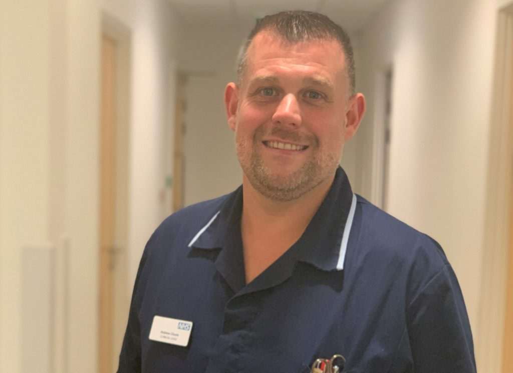 Andy Churm is one of the Trust's NHS Heroes