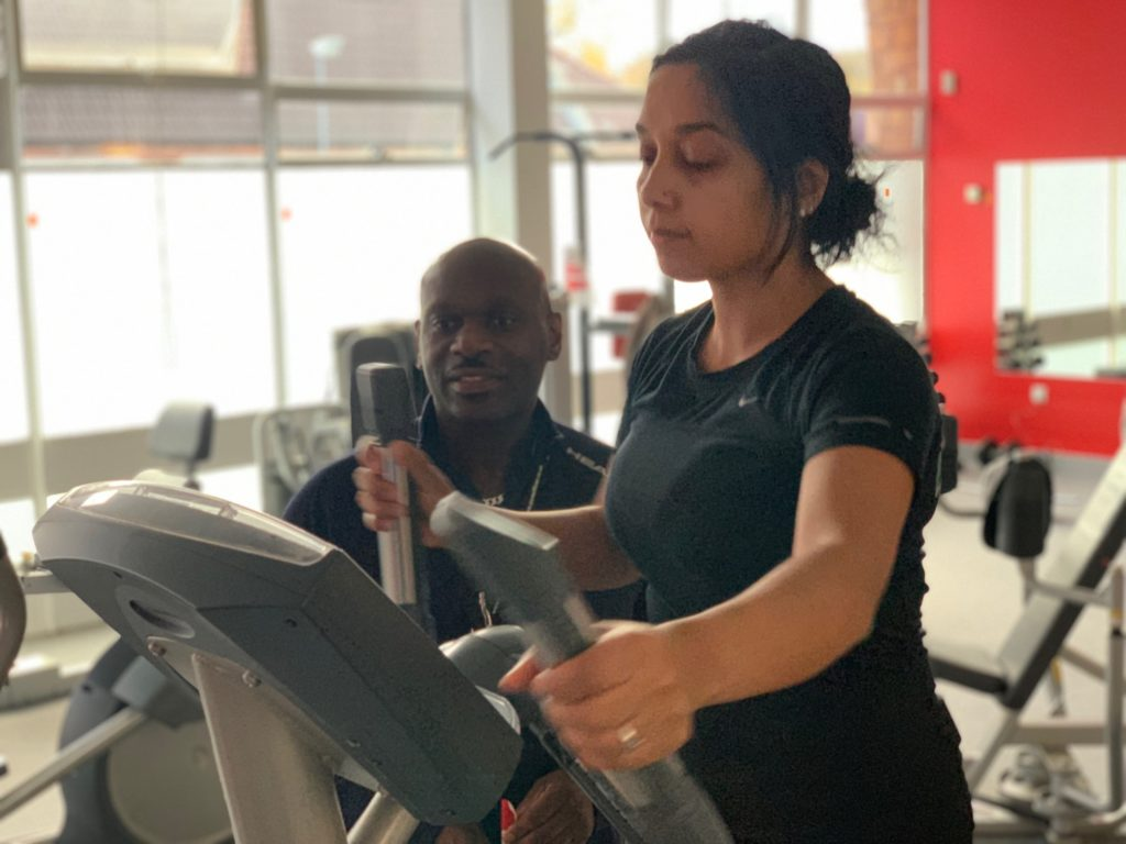 The new City Hospital gym has been refurbished and is being used by staff for free.