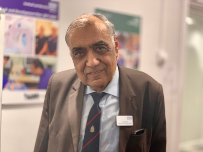 Dr Chand who is an inspiration to many young medics for the amazing work he has carried out over the years. Dr Chand is also one of the Trust's NHS Heroes.