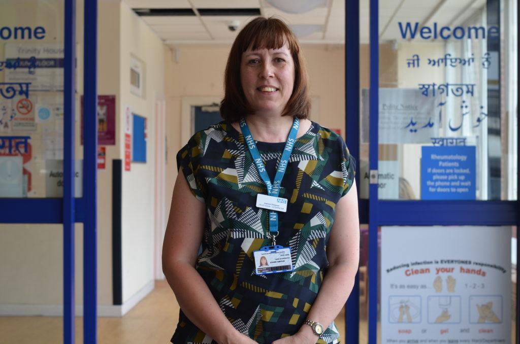 Joanne Simpson is one of the Trust's NHS Heroes.
