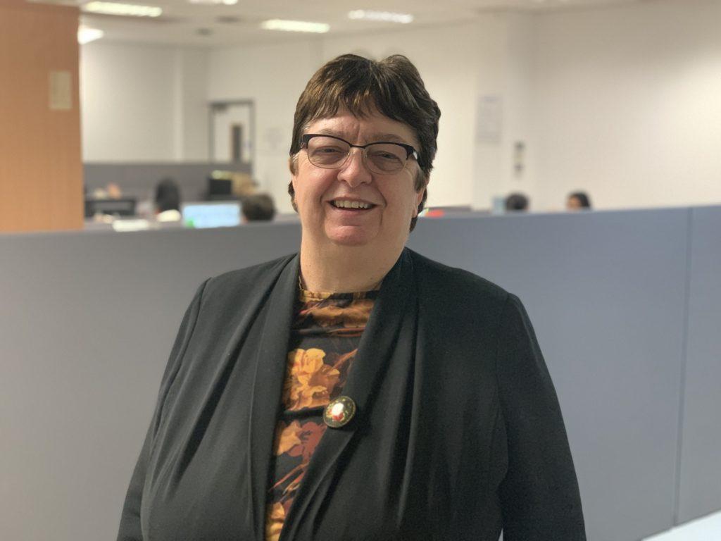 Professor Elizabeth Hughes is one of the Trust's NHS Heroes.