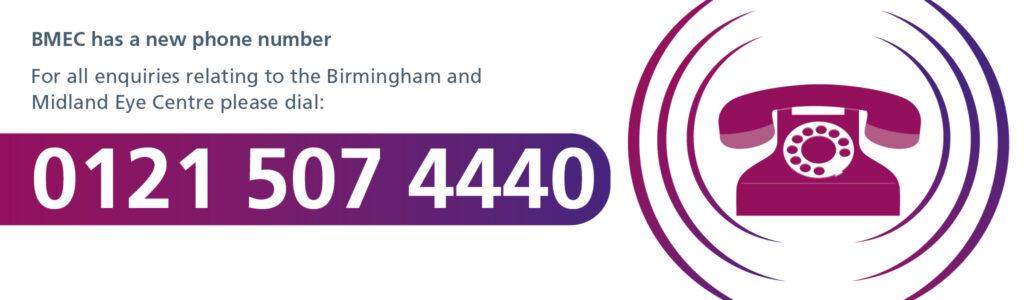 BMEC Helpline: 0121 507 4440