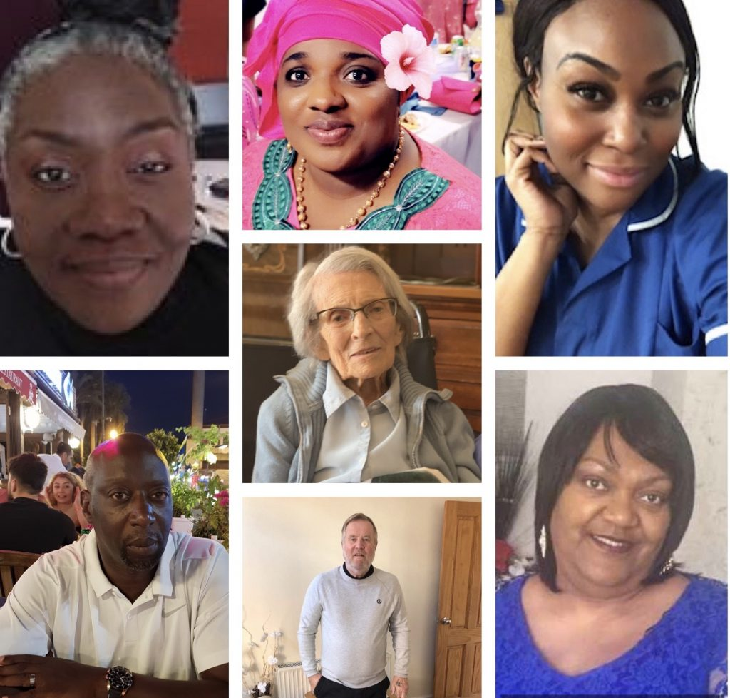 These are our magnificent seven - patients cared for at our Trust who have all overcome coronavirus.