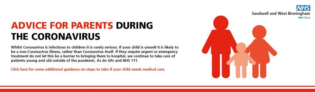 Coronavirus: Advice For Parents