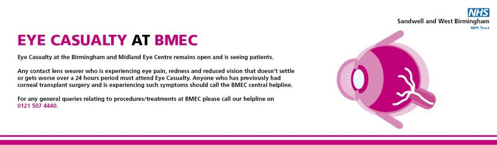 Coronavirus: BMEC Guidance