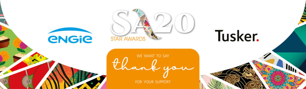 Star Awards 2020: We Want to say thank you for your support.