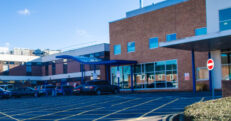 this picture shows the exterior of the A&E department at Sandwell Hospital where a new urgent treatment centre is now located