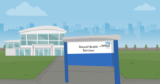 this image shows a animated visual of Sandwell Sexual Health Services