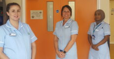 Members of the Cancer Services team who will soon be supported by volunteers thanks to an NHS Charities Together cash boost.